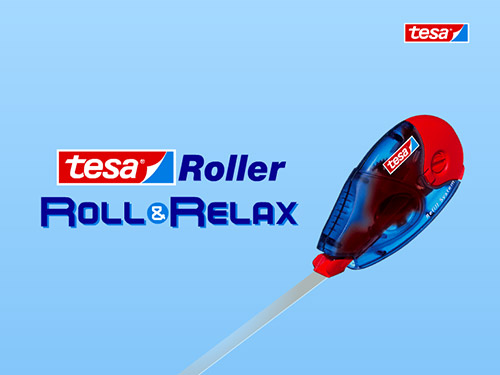 Screenshot: tesa Roller